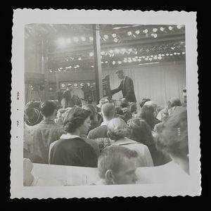 Dave Garroway Program Polaroid from 1957.